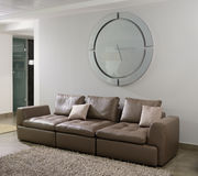 Modern interior. Living-room Royalty Free Stock Photography