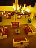 Modern interior  of the luxury hotel Stock Photo