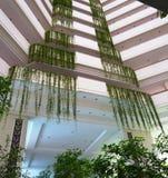 Modern interior  of the luxury hotel Stock Photos