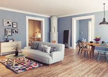 The Modern interior Royalty Free Stock Images