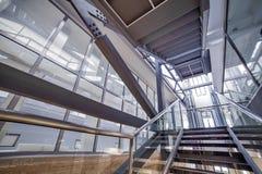 Modern interior. Modern architecture Stock Photo