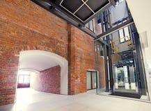 Modern interior. Modern architecture Stock Image