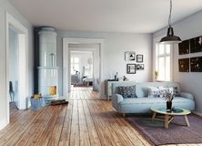 The Modern interior Stock Images