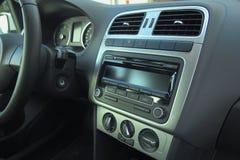 Modern interior in new car Stock Image