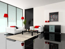 Free Modern Interior Of A Cabinet Stock Images - 4935984