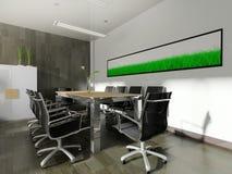 Modern interior of office Stock Photos