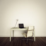 Modern interior office. Modern comfortable interior office and empty space