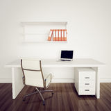 Modern interior office Stock Images