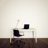Modern interior office Stock Photos