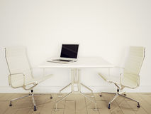 Modern interior office. Modern comfortable interior office and empty space Stock Images