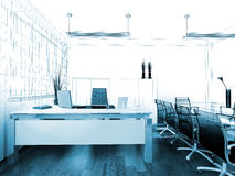 Modern interior of office Stock Image