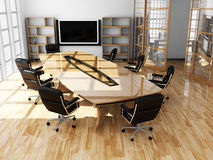 Modern interior of office Royalty Free Stock Image
