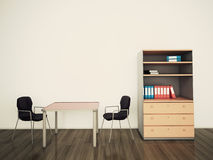 Modern interior office Royalty Free Stock Photo