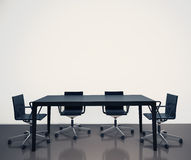 Modern interior office. Modern comfortable interior office and empty space Royalty Free Stock Photography