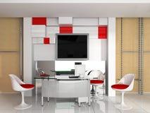 Modern interior of office. Exclusive design