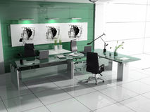 Modern interior of office Royalty Free Stock Photos