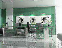 Modern interior of office Royalty Free Stock Images