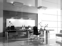 Modern interior of office Stock Photo
