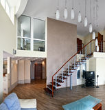 Modern interior (panoramic photo) Stock Photography