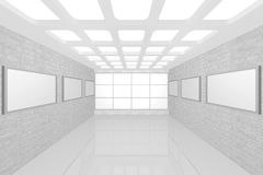 Modern interior picture gallery Royalty Free Stock Images