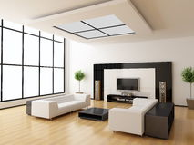 Modern interior of a room Stock Photography