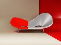 A modern interior with a  sofa Stock Photography