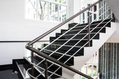 Modern interior with stair Stock Photo