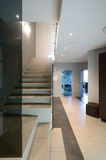 Modern interior. Staircase Royalty Free Stock Photography