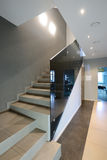 Modern interior. Staircase Royalty Free Stock Photo