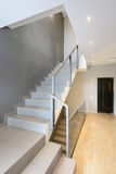 Modern interior. Staircase Royalty Free Stock Photos