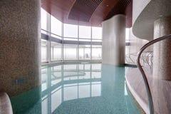 Modern interior of swimming pool Royalty Free Stock Photos