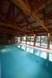 Modern interior of swimming pool Royalty Free Stock Image