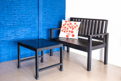 Modern interior table and chairs. Stock Images