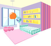 Modern interior vector Royalty Free Stock Image