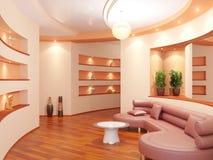 Modern interior of a vestibule Stock Photos
