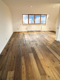 Modern interior with wooden floor Stock Photography