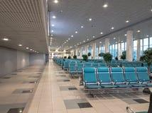 Modern international airport Stock Photo
