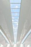 Modern international airport roof. Terminal Stock Photography