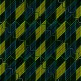 Modern Intricate Geometric Seamless Pattern Royalty Free Stock Photos