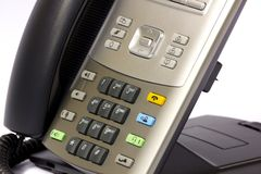 Modern IP Telephone Royalty Free Stock Images