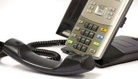 Modern IP Telephone Stock Photos