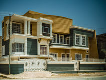 Modern Iraqi house Royalty Free Stock Photos