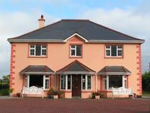 Modern Irish house stock photos