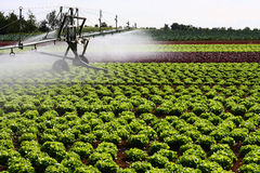 Modern Irrigation System Stock Photography