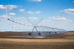 Modern irrigation system Royalty Free Stock Photography