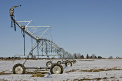 Modern Irrigation System - MORE in Portfolio Royalty Free Stock Photography