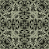 Modern Islam Arabesque Pattern. Islamic style artwork abstract geometric arabesque motif photo collage manipulated digital technique pattern background in silver Stock Images