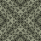Modern Islam Arabesque Pattern. Islamic style artwork abstract geometric arabesque motif photo collage manipulated digital technique pattern background in silver Royalty Free Stock Photos