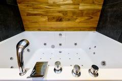 Modern jacuzzi bath Stock Photo