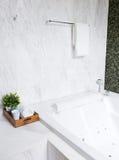 Modern jacuzzi bathtub Stock Photography